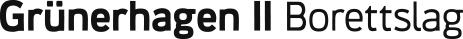 Grünerhagen II Borettslag Logo